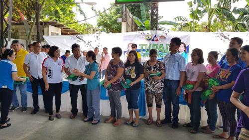 Awarding of Personal Protective Equipment to the second batch of Tulong Pangkabuhayan sa Ating Disadvantaged Workers (TUPAD)  (3)