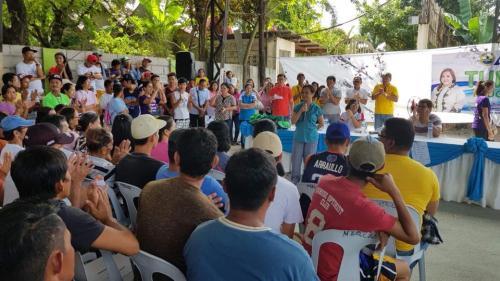 Awarding of Personal Protective Equipment to the second batch of Tulong Pangkabuhayan sa Ating Disadvantaged Workers (TUPAD)  (6)