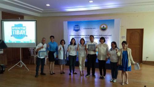 LGU, NGO hold seminar to combat  micronutrient deficiency in Lubao (14)