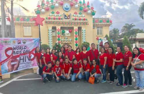 Lubao Observes World AIDS Day