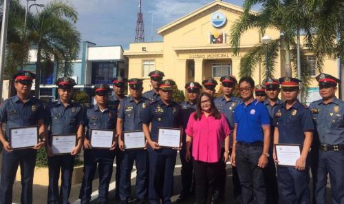Lubao Police Bravery Cited