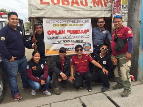 OPLAN UNDAS Motorist Assistance Center