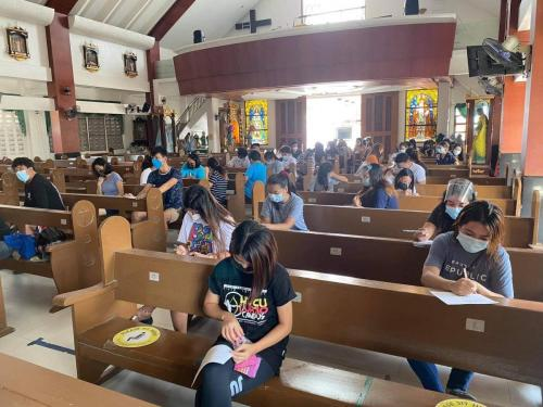 At least 2,822 college students from 41 barangays of Lubao
